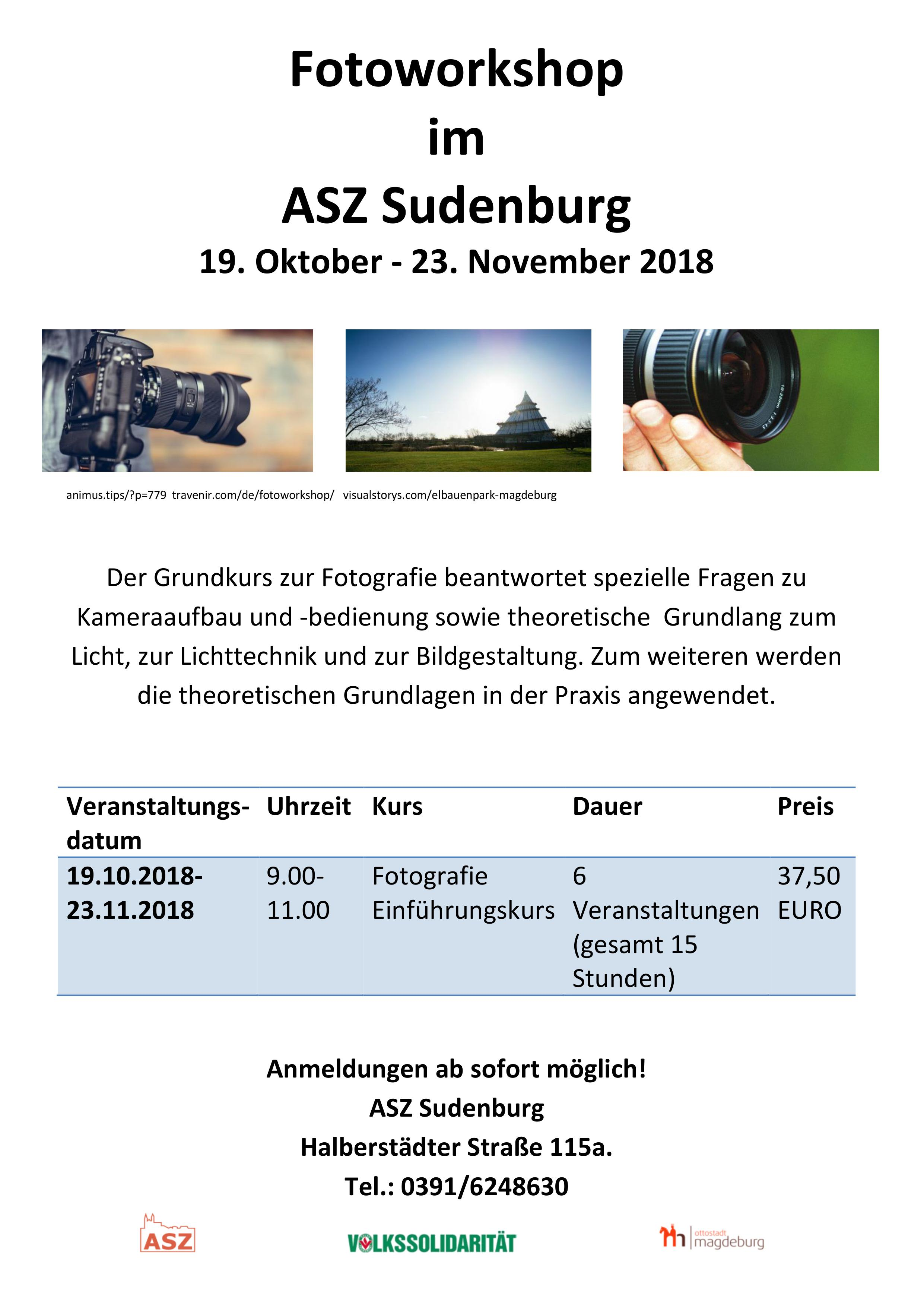 2018 Fotoworkshop